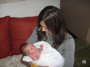 natural birth: newborn photo